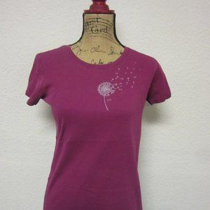 LUCY Short Sleeve Tee Dandelion T-Shirt Large